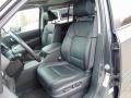 2011 Honda Pilot Black Interior Front Seat Photo