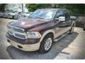 2015 Western Brown Ram 1500 Laramie Long Horn Crew Cab  photo #1