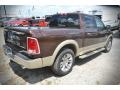 2015 Western Brown Ram 1500 Laramie Long Horn Crew Cab  photo #4