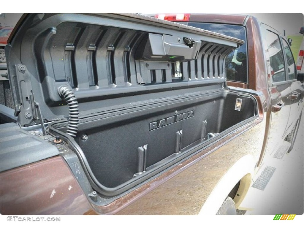 2015 1500 Laramie Long Horn Crew Cab - Western Brown / Canyon Brown/Light Frost photo #5