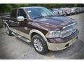 2015 Western Brown Ram 1500 Laramie Long Horn Crew Cab  photo #8