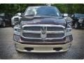 2015 Western Brown Ram 1500 Laramie Long Horn Crew Cab  photo #9