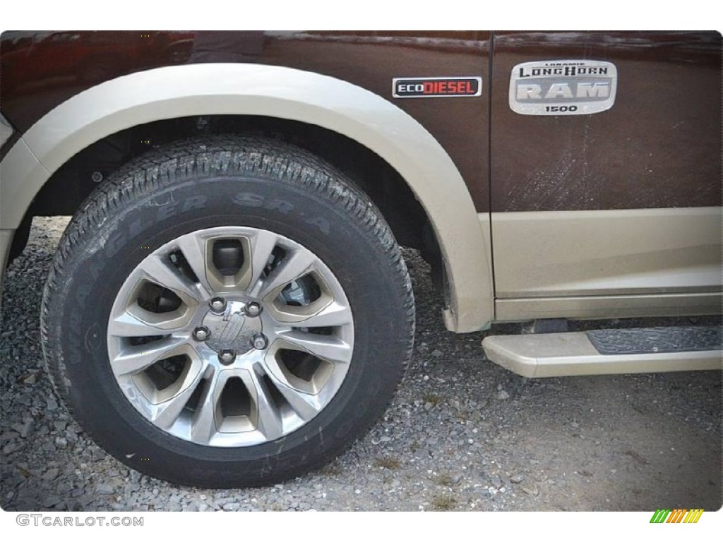 2015 1500 Laramie Long Horn Crew Cab - Western Brown / Canyon Brown/Light Frost photo #10