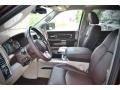 2015 Western Brown Ram 1500 Laramie Long Horn Crew Cab  photo #15