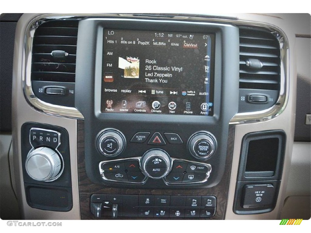 2015 1500 Laramie Long Horn Crew Cab - Western Brown / Canyon Brown/Light Frost photo #18