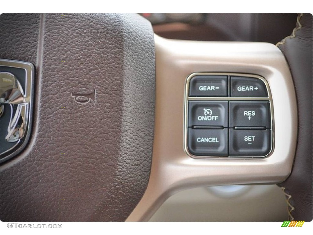 2015 1500 Laramie Long Horn Crew Cab - Western Brown / Canyon Brown/Light Frost photo #20