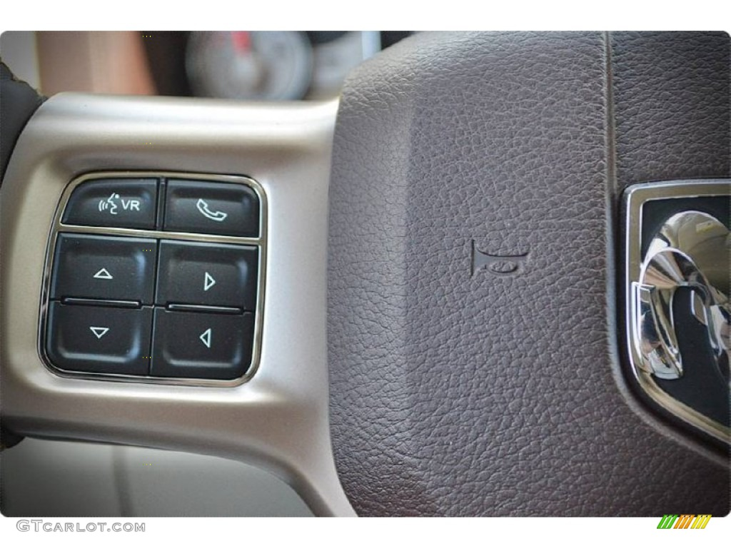2015 1500 Laramie Long Horn Crew Cab - Western Brown / Canyon Brown/Light Frost photo #21