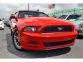 2014 Race Red Ford Mustang V6 Premium Convertible #102923885