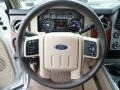 2015 Ford F250 Super Duty King Ranch Mesa Antique Affect/Adobe Interior Steering Wheel Photo