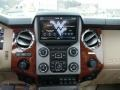 2015 Ford F250 Super Duty King Ranch Mesa Antique Affect/Adobe Interior Controls Photo