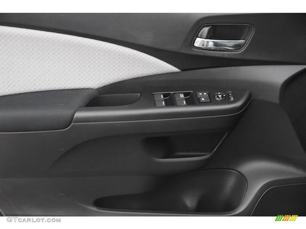 2015 CR-V EX - Modern Steel Metallic / Gray photo #7