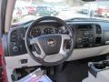 2009 Chevrolet Silverado 1500 Light Titanium Interior Dashboard Photo
