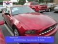2014 Ruby Red Ford Mustang V6 Coupe #102966079