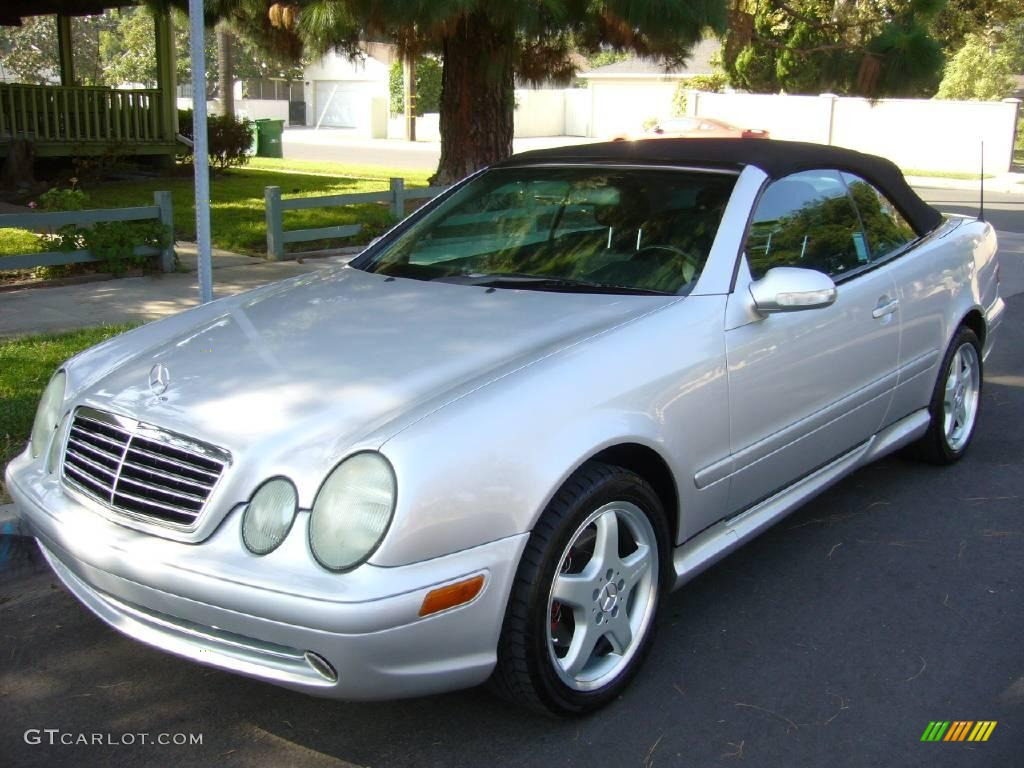 2003 brilliant silver metallic mercedes benz clk 430 for Mercedes benz silver
