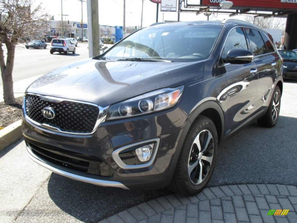 2016 platinum graphite kia sorento ex awd 103000916. Black Bedroom Furniture Sets. Home Design Ideas