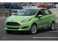 2015 Green Envy Ford Fiesta SE Sedan #103020912
