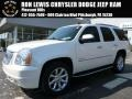 White Diamond Tricoat 2010 GMC Yukon Denali AWD