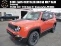 Omaha Orange 2015 Jeep Renegade Trailhawk 4x4