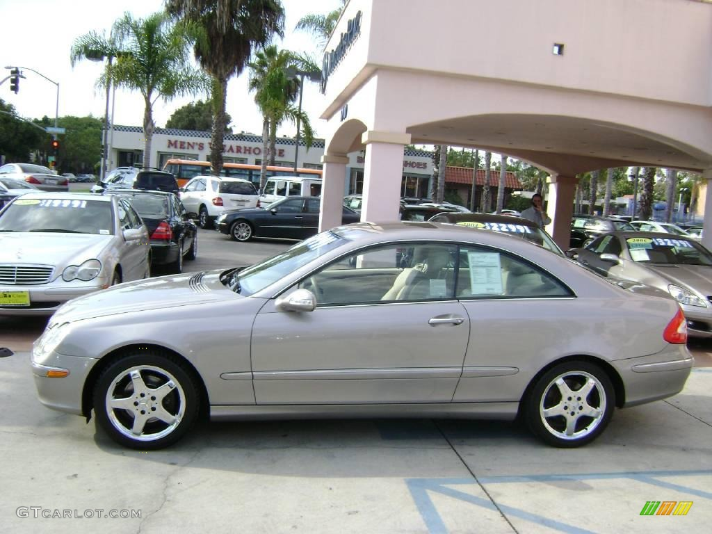 2004 pewter metallic mercedes benz clk 320 coupe 1020557 for 2004 mercedes benz clk500 coupe