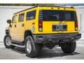 2005 Yellow Hummer H2 SUV  photo #10