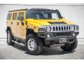 2005 Yellow Hummer H2 SUV  photo #11