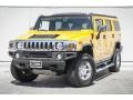 2005 Yellow Hummer H2 SUV  photo #12
