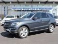 Steel Grey Metallic 2015 Mercedes-Benz ML 250 BlueTEC 4Matic