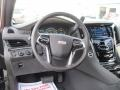 2015 Cadillac Escalade Jet Black Interior Steering Wheel Photo