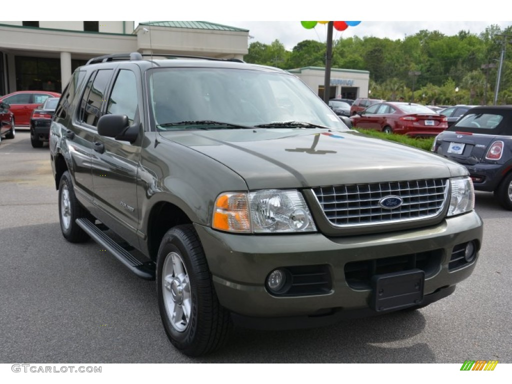 Estate Green Metallic Ford Explorer
