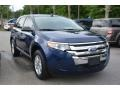 Dark Blue Pearl Metallic 2012 Ford Edge SE