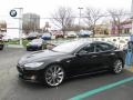 Black 2013 Tesla Model S P85 Performance