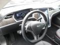 Black Steering Wheel Photo for 2013 Tesla Model S #103064712