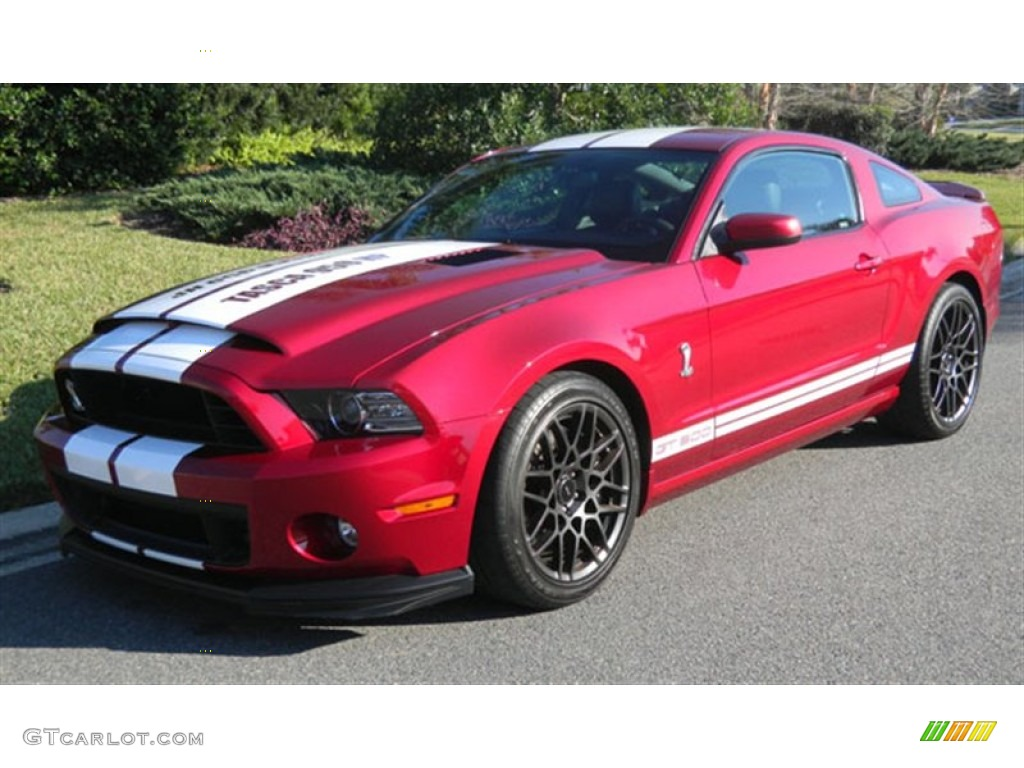2014 ruby red ford mustang shelby gt500 svt performance. Black Bedroom Furniture Sets. Home Design Ideas
