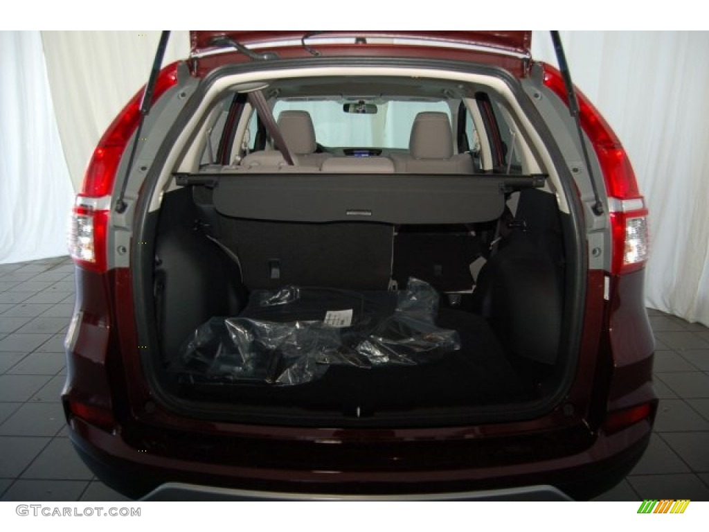 2015 CR-V EX - Basque Red Pearl II / Gray photo #24