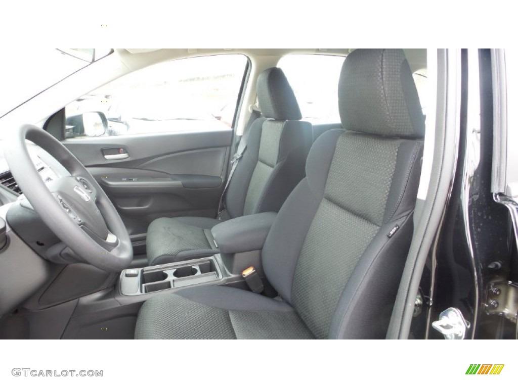 2015 CR-V LX AWD - Crystal Black Pearl / Black photo #10