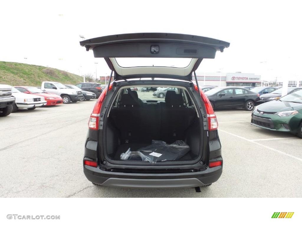 2015 CR-V LX AWD - Crystal Black Pearl / Black photo #13
