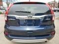 2015 Obsidian Blue Pearl Honda CR-V EX-L AWD  photo #2