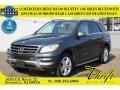 Steel Grey Metallic 2012 Mercedes-Benz ML 350 BlueTEC 4Matic