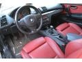 2009 BMW 1 Series Coral Red Boston Leather Interior Interior Photo