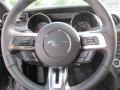 Ebony Steering Wheel Photo for 2015 Ford Mustang #103124672