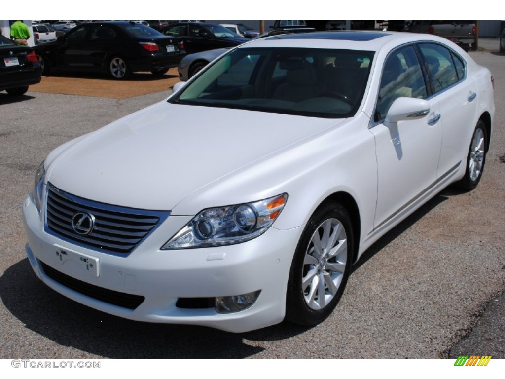starfire white pearl 2012 lexus ls 460 awd exterior photo 103143870. Black Bedroom Furniture Sets. Home Design Ideas