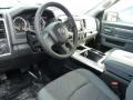 Black/Diesel Gray Prime Interior Photo for 2015 Ram 1500 #103159691