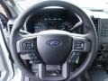 Medium Earth Gray Steering Wheel Photo for 2015 Ford F150 #103174049
