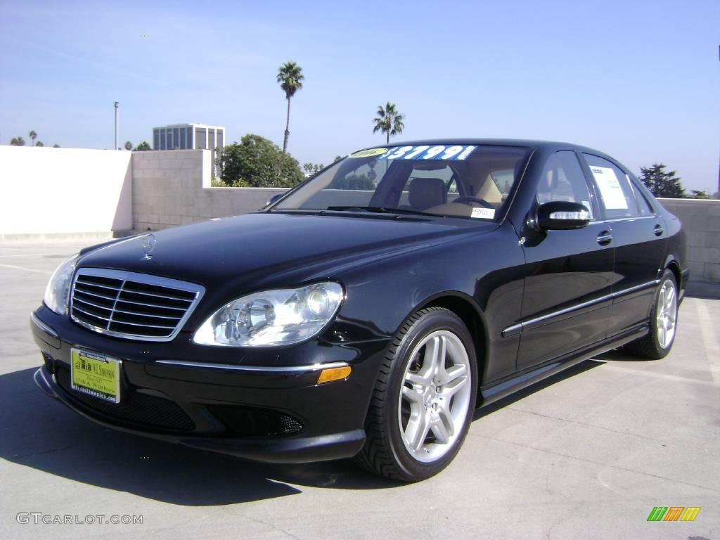 2006 Black Mercedes Benz S 500 Sedan 1020588 Gtcarlot