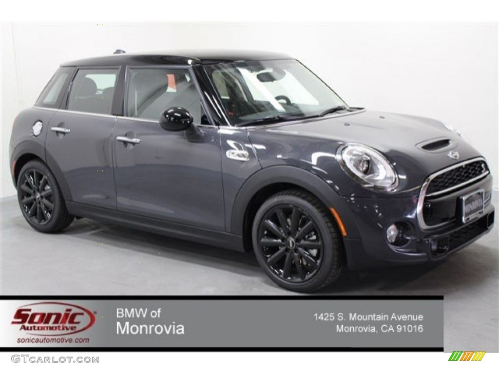 Mini Cooper Interior >> 2015 Thunder Gray Metallic Mini Cooper S Hardtop 4 Door #103186127 | GTCarLot.com - Car Color ...