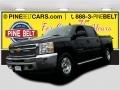 2013 Black Chevrolet Silverado 1500 LT Crew Cab 4x4 #103185417