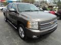 2012 Mocha Steel Metallic Chevrolet Silverado 1500 LTZ Crew Cab 4x4  photo #4