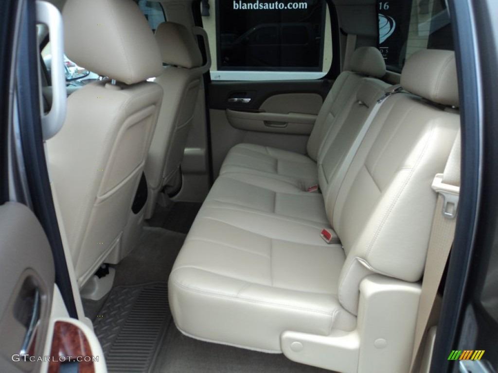 2012 Silverado 1500 LTZ Crew Cab 4x4 - Mocha Steel Metallic / Light Cashmere/Dark Cashmere photo #7