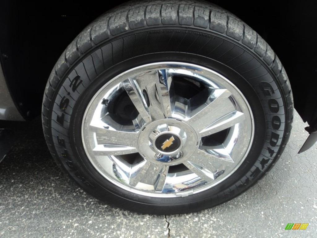 2012 Silverado 1500 LTZ Crew Cab 4x4 - Mocha Steel Metallic / Light Cashmere/Dark Cashmere photo #28