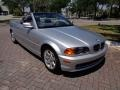 Front 3/4 View of 2001 3 Series 325i Convertible
